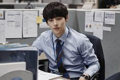 Siwan in TvN Korean Drama 'Misaeng'