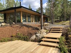 Archipelago, Four Seasons, Ecology, Finland, Sustainability, Pergola, Villa, Outdoor Structures, Contemporary