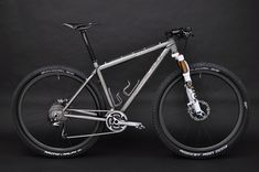 Mountain bikes are rarely beautiful, this one is #Baum Cycles, via Flickr #MTB