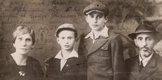 """It is a pity that I cannot be with you now, and I am even more upset that once again you are going off into the wide world without me."" Last letter from Yaacov Schwartz, 18 January 1941,  Mariiampil, Poland (today Ukraine)"