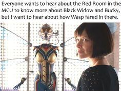 Marvel Antman & the Wasp - Red Room MCU Black Widow Bucky