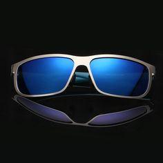 635f02ac8 Classic Sunglasses Polarized UV400 Square Metal Men Eyewear Sun Glasses  Eyeglasses fsk8583-in Sunglasses from Men's Clothing & Accessories on  Aliexpress.com ...