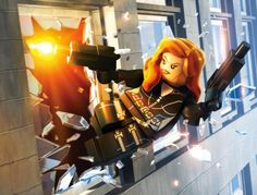 Black Widow from Lego Marvel Superheroes