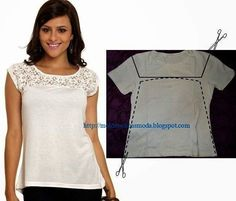 25 Wonderful Ideas to Refashion Your Shirts #diy #crafts