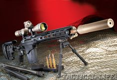 Remington MSR .338 Lapua mag.