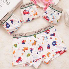 boy underwear boy boxer child's for underpants shorts  pants for boys children's boxer kids panties  C3029-6p 6pcs/lot #Affiliate