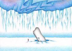 Fantasy art - Friends in the Arctic
