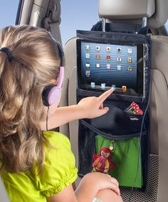 Universal Tablet Headrest Mount $12.99!  Need this for our next road trip.