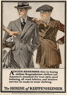 "[caption id=""attachment_29430"" align=""alignleft"" width=""193""] J.C. Leyendecker in 1895.[/caption]Born in 1874, Joseph Christian Leyendecker ... Vintage Men, Vintage Italian, Retro Vintage, Magazine Design, Vintage Posters, Edwardian Era, Victorian, Vintage Outfits, Vintage Fashion"