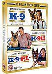 K-9 / K-911 / K-9 - P.i. (DVD)  ELI Kyttäkaksikko-leffat!