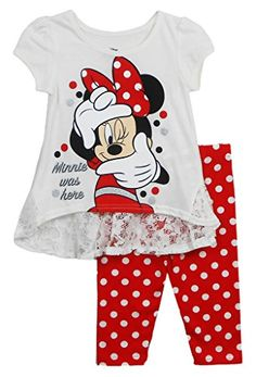 1c15aebc92a8 Bold Color outfits for a toddler girl. See more. Disney Junior Disney Girls  Love Minnie Mouse