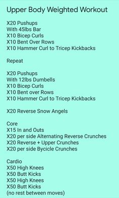 Upper Body Weight Workout, Bodyweight Upper Body Workout, Upper Body Strength Workout, Upper Body Circuit, Hiit, Cardio, Cross Training Workouts, Swimming Workouts, Body Exercises