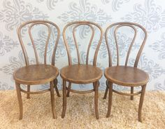 vintage bentwood chairs gold spandex chair covers wholesale 61 best cafe seating images set of 3 by 9livesdecor