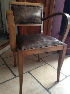 Fauteuil Bridge Dining Chairs, Decoration, Shabby, Poufs, Furnitures, Bridges, Mars, Inspiration, Home Decor