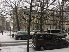 Neige en ce vendredi sur Bruxelles