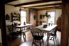 Diningroom at christmas time