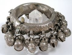 Anklet with bells, Bedouin, Egypt