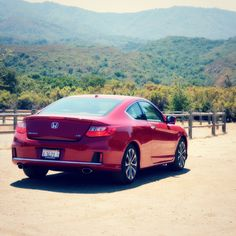"The Honda Accord Coupe. I call her, ""One Sexy Little Beast"".  www.jennyonthespot.com"