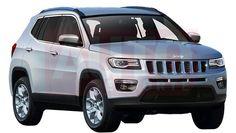 SUV irá estrear no Salão de Nova Iorque em março e chega às lojas brasileiras já em outubro