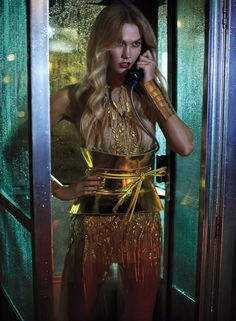 """KARLIE KLOSS: SUPER MODEL: Conquering fashion and crushing tech - photography: Carter Smith - styling: Bill Mullen - hair: Harry Josh - makeup: Hung Vanngo - manicure: Casey Herman - text: Laura Brown - INStyle June 2017 """"Almost 10 years in, her..."""