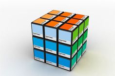 Pantone cube - my inner geek and design nerd just freaked out at the same time.