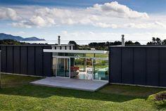 Modern Architectural Beach Holiday Home Design Exterior