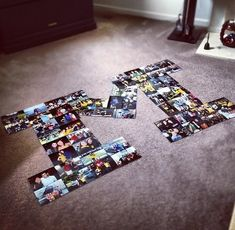 DIY Dorm Ideas | DIY Dorm Decorations | Her Campus College Room, College Life, Dorm Life, College Apartments, Letter Collage, Wall Collage, Campus University, Number 21, Display Photos