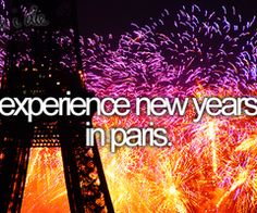 bucket list before i die Experience New Years In Paris. # Bucket List # Before I Die Bucket List Before I Die, One Day I Will, Life List, Oui Oui, Travel List, Travel Goals, Adventure Is Out There, Oh The Places You'll Go, Boys Who