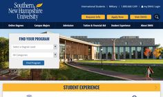 The SNHU website update: see how a US university overhauled its homepage and admissions website content for the better