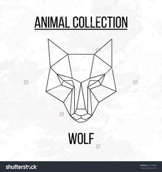 stock-vector-geometric-vector-animal-wolf-head-background-334318688.jpg (1500×1600)