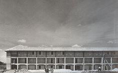 giancarlo de carlo _ popular housing complex in matera, italy 1954