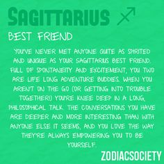 Sagittarius and sagittarius friendship
