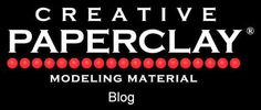 Creative Paperclay® air dry modeling material: Using fabric to create texture to your Creative Paperclay® project by Gloriann Irizarry