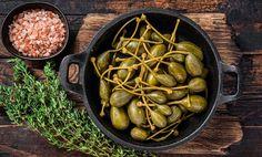 Prečo využiť kapary v kuchyni? Spoznaj ich účinky aj TOP recepty z kapár Omega 3, Beans, Vegetables, Top, Vegetable Recipes, Crop Shirt, Shirts, Beans Recipes, Veggies