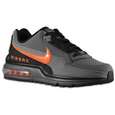 Nike Air Max LTD - Men's - Dark Grey/Safety Orange/Black/Charcoal