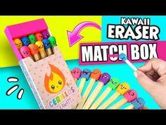 DIY ★ MATCH BOX ERASERS! ★ Easy DIY Crafts ★ - YouTube