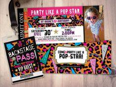 15 best rock star pop star birthday images on pinterest in 2018 rock star concert ticket birthday party invitation by lyonsprints filmwisefo