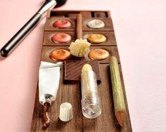 Edible Makeup Palettes - Christophe Roussel Creates Deliciously Ultra-Feminine Treats