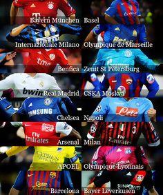Last 16 Champions League 2011-2012
