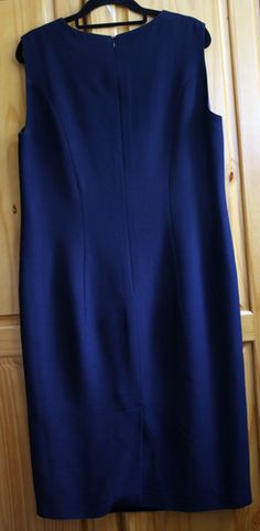 1960's Vintage Designer Hardy Amies Shift Dress Navy Blue Hardy Amies, Navy Blue Dresses, Vintage Designs, Lp, 1960s, Online Price, Best Deals, Skirts, Ebay
