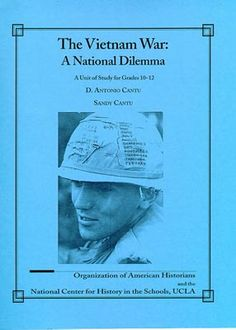 The Vietnam War: A National Dilemma Vietnam War, Historian, Dean, Baseball Cards, American, School, Books, Movie Posters, Livros