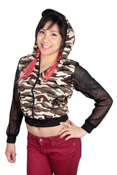 Maastokuvioinen Huppari Verkkohihoilla   Cybershop Girl Fashion, Fashion Tips, Hooded Jacket, Autumn Fashion, Athletic, Hoodies, Sweaters, Jackets, Shopping