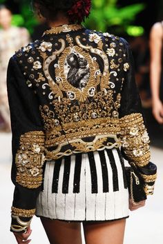 A Sky Full Of Sequins — miss-mandy-m:   Dolce & Gabbana Spring 2017