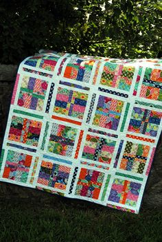 PDF quilt PATTERN five sizes from baby to king Layer by sweetjane