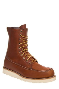 Men's Red Wing '877' Moc Toe Boot, Size 11.5 D - Brown