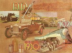 Brochure art for the Dolph Corporation Annual Report - 1910-1930