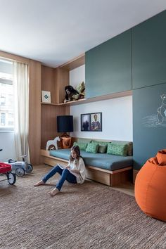 Arthur Casas NY (Photo: Fran Parente) Related posts: room with Ikea furniture photography and styling by Victoria Brikho Lenefo.Gaspard Room amazing and imaginative spaces for kids will leave you wishing you could g. Girl Room, Girls Bedroom, Bedroom Decor, Bedroom Bed, Decorating Bedrooms, Playroom Decor, Bed Rooms, Child's Room, Guest Bedrooms