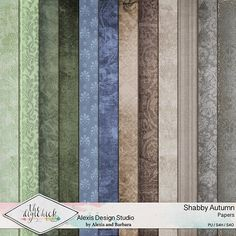 Shabby Autumn - Papers