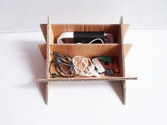 Laptop Stand With Hidden Organizer - Ideas of Laptop Stands - Laptop Stand With Hidden Organizer : 6 Steps (with Pictures) Instructables Laptop Desk, Storage Bins, Diy Storage, Diy Laptop Stand, Used Cardboard Boxes, Portable Desk, Bed Tray, Fun Diy Crafts, Laptop Stand