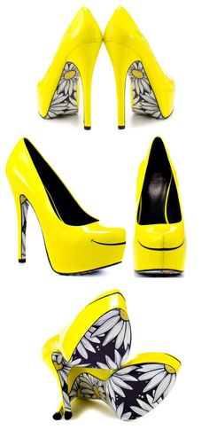 Loose the smile thing on these and these heels are screaming.  I'd never wear them though. :/